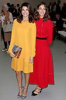 Natalie Anderson & Laura Jackson, London Fashion Week SS17 - Jasper Conran, BFC Catwalk Show Space, London UK, 17 September 2016