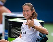 Daria Kasatkina of Russia during practice at the 2018 US Open Grand Slam tennis tournament, New York, USA, August 22th 2018, Photo Rob Prange / SpainProSportsImages / DPPI / ProSportsImages / DPPI