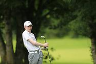 Gavin McEvoy (Clontarf) during the Connacht U14 Boys Amateur Open, Ballinasloe Golf Club, Ballinasloe, Galway,  Ireland. 10/07/2019<br /> Picture: Golffile   Fran Caffrey<br /> <br /> <br /> All photo usage must carry mandatory copyright credit (© Golffile   Fran Caffrey)