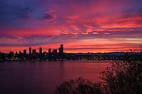 Seattle Skyline & Eastern Horizon