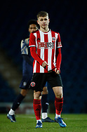 Zak Brunt of Sheffield Utd during the Professional Development League  match at the Proact Stadium, Chesterfield. Picture date: 3rd February 2020. Picture credit should read: Simon Bellis/Sportimage