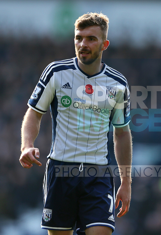 James Morrison of West Bromwich Albion  - Barclays Premier League - WBA vs Newcastle Utd - Hawthorns Stadium - West Bromwich - England - 9th November 2014  - Picture Simon Bellis/Sportimage