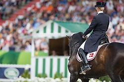 Nathalie Zu Sayn Wittgenstein, (DEN), Digby - Freestyle Grand Prix Dressage - Alltech FEI World Equestrian Games™ 2014 - Normandy, France.<br /> © Hippo Foto Team - Jon Stroud<br /> 25/06/14