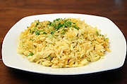 A dish of Risotto