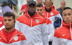 October 6, 2017 - Orlando, Florida, United States - Orlando, FL - Friday Oct. 06, 2017: Jozy Altidore during a 2018 FIFA World Cup Qualifier between the men's national teams of the United States (USA) and Panama (PAN) at Orlando City Stadium. (Credit Image: © John Todd/ISIPhotos via ZUMA Wire)