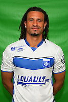 Mickael Tacalfred of Auxerre during Auxerre squad photo call for the 2016-2017 Ligue 2 season on September, 7 2016 in Auxerre, France ( Photo by Andre Ferreira / Icon Sport )