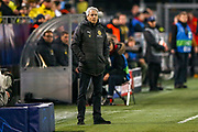 Borussia Dortmund manager Lucien Favre during the Champions League round of 16, leg 2 of 2 match between Borussia Dortmund and Tottenham Hotspur at Signal Iduna Park, Dortmund, Germany on 5 March 2019.