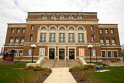 the McLean County Center for the Performing Arts has been closed due to the COVID-19 (Novel Coronavirus)) by the #blonoyarnbomb