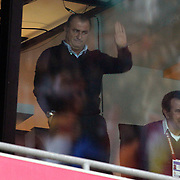 Galatasaray's coach Fatih Terim during their Turkish Super League soccer match Galatasaray between Genclerbirligi at the TT Arena at Seyrantepe in Istanbul Turkey on Friday, 08 March 2013. Photo by Aykut AKICI/TURKPIX