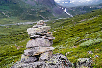 Norway, Jotunheimen. Storådalen close to the Gjende Lake.