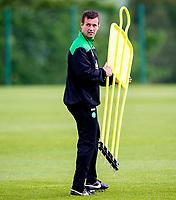 02/07/15<br /> CELTIC TRAINING<br /> LENNOXTOWN<br /> Celtic manager Ronny Deila prepares his side for pre-season training.