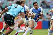 Alfi Mafi. Waratahs v Force. 2013 Investec Super Rugby Season. Allianz Stadium, Sydney. Sunday 31 March 2013. Photo: Clay Cross / photosport.co.nz