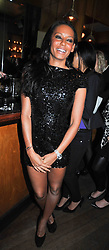 MELANIE BROWN at a party to celebrate the launch of the Omega 2009 Constellation Collection of watches held at Almada, Berkeley Street, London on 15th October 2009.