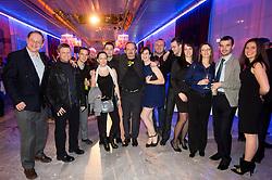 Team of daily newspaper Ekipa at Slovenian Sports personality of the year 2012 annual awards presented on the base of Slovenian sports reporters, on December 20, 2011 in Cankarjev dom, Ljubljana, Slovenia. (Photo By Vid Ponikvar / Sportida.com)