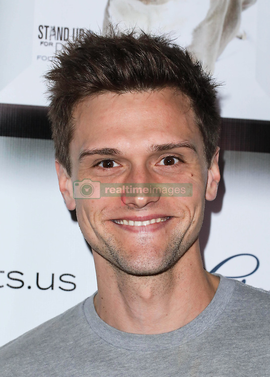 LOS ANGELES, CA, USA - NOVEMBER 11: 8th Annual Stand Up For Pits held at the Hollywood Improv Comedy Club on November 11, 2018 in Los Angeles, California, United States. 11 Nov 2018 Pictured: Hartley Sawyer. Photo credit: Xavier Collin/Image Press Agency/MEGA TheMegaAgency.com +1 888 505 6342