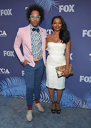 August 2, 2018 - West Hollywood, California, U.S. - Johnathan Fernandez and Keesha Sharp arrives for the FOX Summer TCA 2018 All-Star Party at Soho House. (Credit Image: © Lisa O'Connor via ZUMA Wire)