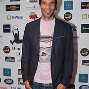 London,England,UK. 14th May 2017. David James attends the BBL Play-Off Finals also fundraising for Hoops Aid 2017 but also a major fundraising opportunity for the Sports Traider Charity at London's O2 Arena, UK. by See Li