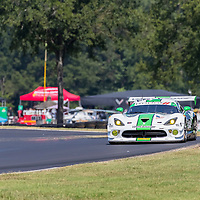 Alton, VA - Aug 26, 2016:  The Riley Motorsport SRT Viper GT3-R races through the turns at the Michelin GT Challenge at VIR at Virginia International Raceway in Alton, VA.