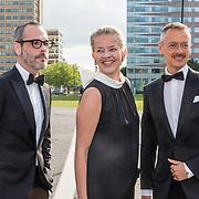 NLD/Amsterdam/20190525 - AmsterdamDiner 2019, Prinses Mabel samen met Viktor en Rolf