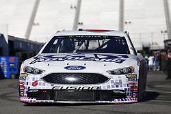 September 23, 2017 - Loudon, New Hampshire, United States of America - September 23, 2017 - Loudon, New Hampshire, USA: Trevor Bayne (6) takes to the track to practice for the ISM Connect 300 at New Hampshire Motor Speedway in Loudon, New Hampshire. (Credit Image: © Justin R. Noe Asp Inc/ASP via ZUMA Wire)