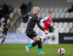 BOREHAMWOOD, ENGLAND - Saturday, September 28, 2019: Liverpool's Luis Longstaff during the Under-23 FA Premier League 2 Division 1 match between Arsenal FC and Liverpool FC at Meadow Park. (Pic by Kunjan Malde/Propaganda)