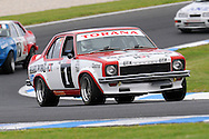 Anna Cameron - Torana A9X - Group G.Historic Motorsport Racing - Phillip Island Classic.18th March 2011.Phillip Island Racetrack, Phillip Island, Victoria.(C) Joel Strickland Photographics.Use information: This image is intended for Editorial use only (e.g. news or commentary, print or electronic). Any commercial or promotional use requires additional clearance.