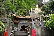 The entrance to Xiandong Fairy Cave.