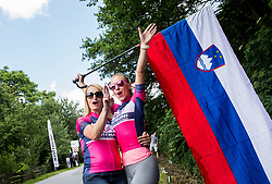 Spectators at Tinje during Stage 3 of 24th Tour of Slovenia 2017 / Tour de Slovenie from Celje to Rogla (167,7 km) cycling race on June 16, 2017 in Slovenia. Photo by Vid Ponikvar / Sportida
