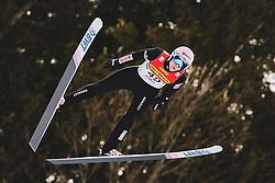 16.02.2020, Kulm, Bad Mitterndorf, AUT, FIS Ski Flug Weltcup, Kulm, Herren, Qualifikation, im Bild Dawid Kubacki (POL) // Dawid Kubacki of Poland# during his qualification Jump for the men's FIS Ski Flying World Cup at the Kulm in Bad Mitterndorf, Austria on 2020/02/16. EXPA Pictures © 2020, PhotoCredit: EXPA/ JFK