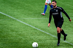 Ronald Wielinga of VV Maarssen in action. First friendly match after the Corona outbreak. VV Maarssen lost the away match against big league Spakenburg 5-1 on 4 July 2020 in Spakenburg.