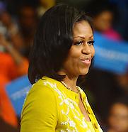 Michelle Obama Cleveland 2012