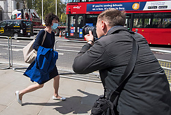© Licensed to London News Pictures. 10/05/2021. London, UK.  Labour Party chair ANNELIESE DODDS MP is seen in Westminster. Labour Party Leader Sir Keir Starmer is expected to reshuffle his Shadow Cabinet after a series of disappointing results in elections last week. Photo credit: Ben Cawthra/LNP