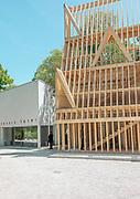 Venice, Biennale Architettura: USA Pavillion and Israel Pavillon