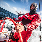 Leg 7 from Auckland to Itajai, day 03 on board MAPFRE, Guillermo Altadill stearing. 19 March, 2018.