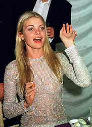 MISS JEMMA KIDD at a party in London on <br /> 3rd June 2000.OEZ 293<br /> © Desmond O'Neill Features:- 020 8971 9600<br />    10 Victoria Mews, London.  SW18 3PY <br /> www.donfeatures.com   photos@donfeatures.com<br /> MINIMUM REPRODUCTION FEE AS AGREED.<br /> PHOTOGRAPH BY DOMINIC O'NEILL