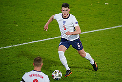 LEUVEN, BELGIUM - Sunday, November 15, 2020: England's Declan Rice during the UEFA Nations League Group Stage League A Group 2 match between England and Belgium at Den Dreef. (Pic by Jeroen Meuwsen/Orange Pictures via Propaganda)