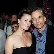 NLD/Haarlem/20061018 - Finale Modelmasters Holland Next Topmodel, Claudia van Zweden en partner Robert Schoemacher