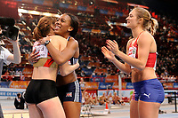 ATHLETICS - INDOOR EUROPEAN CHAMPIONSHIPS PARIS-BERCY 2011 - FRANCE - DAY 1 - 04/03/2011 - PHOTO : JULIEN CROSNIER / DPPI - 60M HURDLES - CAROLIN NYTRA (GER) / WINNER