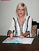 Tori Spelling Book Signing
