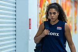 19-10-2018 JPN: Semi Final World Championship Volleyball Women day 20, Yokohama<br /> Serbia - Netherlands / Celeste Plak #4 of Netherlands