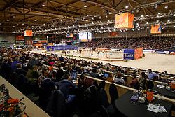 Overview<br /> KWPN Stallionshow - 's Hertogenbosch 2018<br /> © Hippo Foto - Dirk Caremans<br /> 02/02/2018