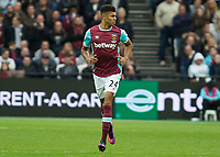 Football - 2016 / 2017 Premier League - West Ham United vs. Sunderland<br /> <br /> Ashley Fletcher of West Ham at The London Stadium.<br /> <br /> COLORSPORT/DANIEL BEARHAM