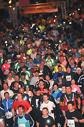 (C) LNP 31/12/2010.  Nos Galan 5k road race around the former South Wales mining village of Mountain Ash. Held every new years eve. General view of all the fun runners.  © Mark Fraser/LNP