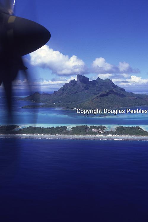 Prop Plane, Bora Bora, French Polynesia<br />