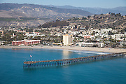 City of Ventura Aerial Stock Photo