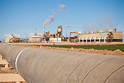 Geothermal electric power plant Niland, CA.