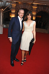 ANTON & LISA BILTON at the Royal Academy of Art Summer Exhibition Preview Party on 4th June 2008.<br />