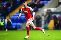 Fleetwood Town's Paul Coutts in action<br /> <br /> Photographer Richard Martin-Roberts/CameraSport<br /> <br /> The EFL Sky Bet League One - Bolton Wanderers v Fleetwood Town - Saturday 2nd November 2019 - University of Bolton Stadium - Bolton<br /> <br /> World Copyright © 2019 CameraSport. All rights reserved. 43 Linden Ave. Countesthorpe. Leicester. England. LE8 5PG - Tel: +44 (0) 116 277 4147 - admin@camerasport.com - www.camerasport.com