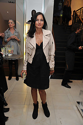 YASMIN MILLS at a reception hosted by Vogue and Burberry to celebrate the launch of Fashions Night Out - held at Burberry, 21-23 Bond Street, London on 10th September 2009.