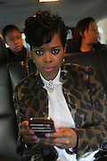 NEW YORK, NY-OCTOBER 15: 'A Day in the Life of Malinda Williams' as she promotes Dr. Miracle's campaign to empower women to undo the chemical damaging of hair processing held on October 15, 2015 in New York City.   (Photo by Terrence Jennings/terrencejennings.com)